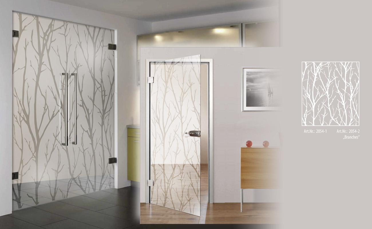 Duschen, Glastüren und Trennwände